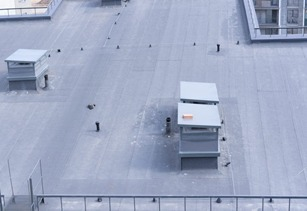 Industrial & commercial TPO roofing project