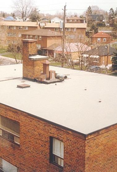 Residential Roofing In Toronto Pvc Tpo Bur Epdm Flat