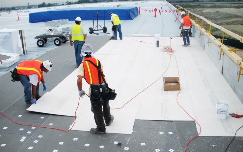 Different commercial roofing systems